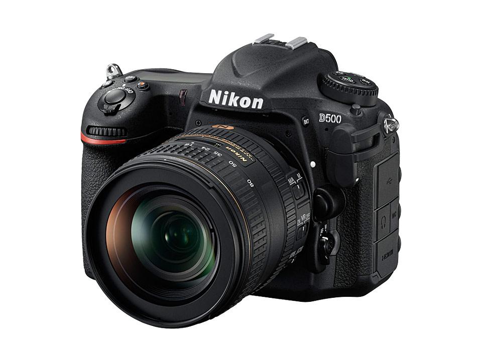 ニコン一眼レフカメラD500本体