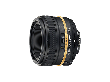 AF-S NIKKOR 50mm f/1.8G(Special Gold Edition)